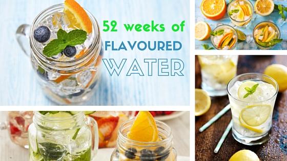 52 weeks of flavoured water